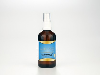 100ml pompa spray – Auremo oro supercolloidale