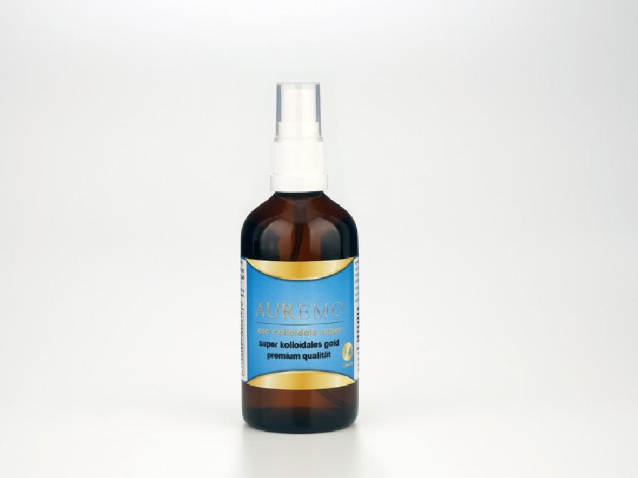 100ml spray – Auremo oro supercolloidale