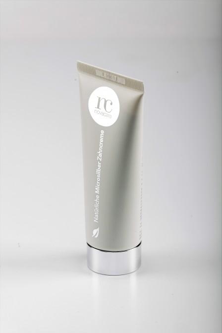 Novacare dentifricio micro argento naturale