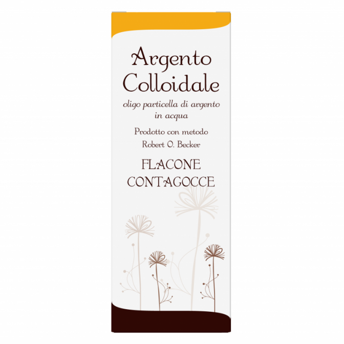 Argento Colloidale Ionico 40 ppm 100 ml