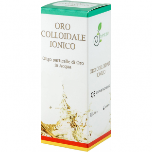 Oro Colloidale Ionico 40 ppm 100ml