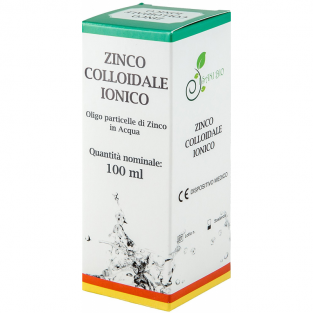 Zinco colloidale ionico - 40ppm - 100ml