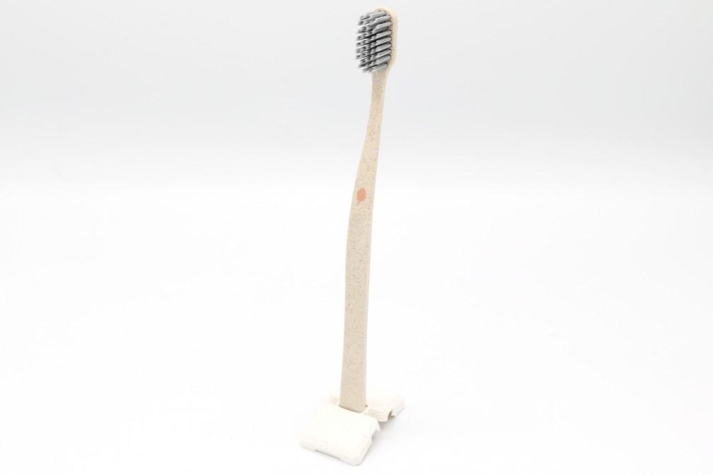 Novacare spazzolino LEGNO argento
